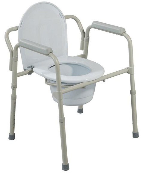 Galaxy Medical Bedside Commodes And Rolling Shower Charis